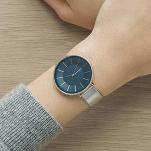 Skagen SKW2725 Karolina Slim Blue Dial Watch